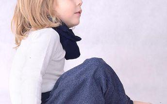 Chlapecké letní kalhoty - tmavě modré