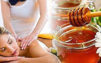 Regenerační masáž medovým olejem