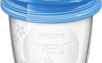Avent VIA pohárky s víčkem 180ml - 5ks