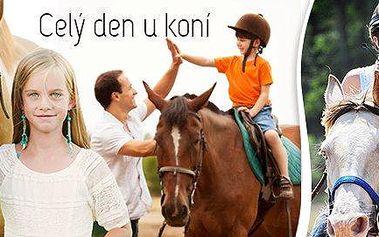 Jednodenní výcvik pro děti na koni …