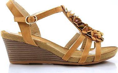 Sandálky s kytičkama MD7035-5CA