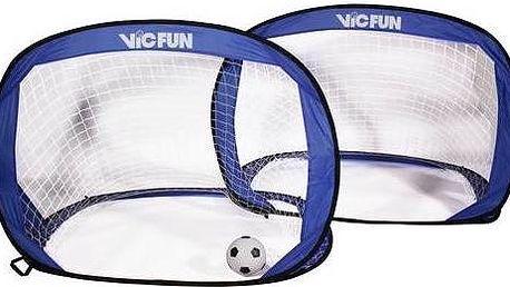 Branka VicFun Pop Up goal set - rozkládací branky na fotbal modré