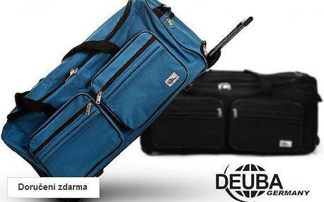 Velká cestovní taška na kolečkách – objem 100 l