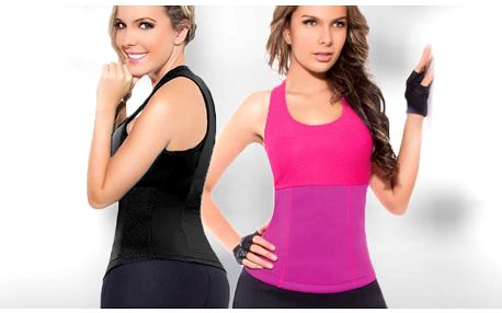 Fitness top Hot Shapers z Neotexu