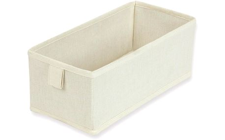 Sada 2 textilních zásuvek/boxů Drawer Natural, 13x28 cm
