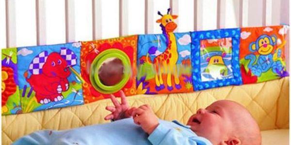 Barevná ohrádka do postýlky pro vaše miminko!