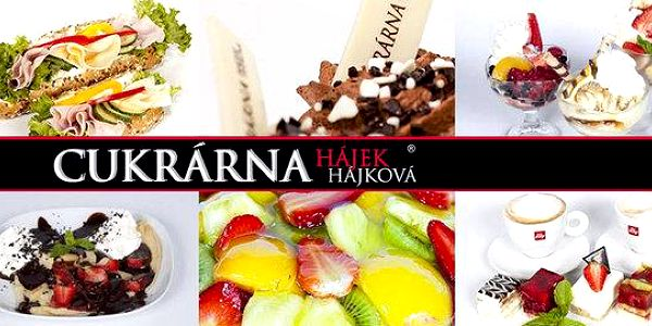 Poukazy do cukrárny Hájek & Hájková