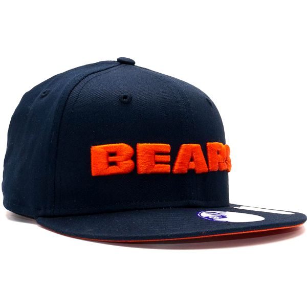 Dětská Kšiltovka New Era Front Word Chicago Bears Official Teams Colors Snapback