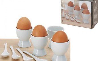 Sada na vejce porcelánová 8 ks!