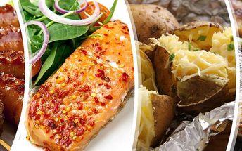 Gurmánský zážitek v restauraci U Munků pro 4 osoby. Grilované maso, ryby, klobása a brambory k tomu!