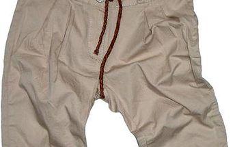 Dívčí capri kalhoty, béžové