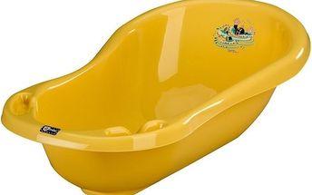 Vanička Krteček 100cm-žlutá
