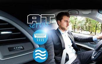 Plnění, kontrola a čištění KLIMATIZACE v autě! Pro svěží vzduch bez bakterií i při vysokých teplotách!