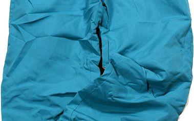 Kalhoty s bavlněnou podšívkou - tyrkysové