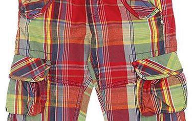 Chlapecké vzorované šortky - barevné