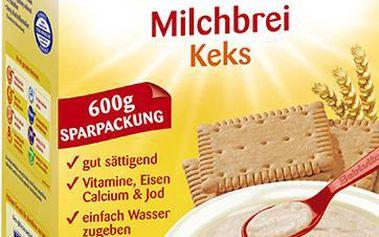 Mléčná kaše sušenková 600g