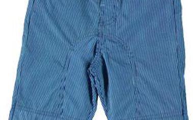 Modré plátěné kalhoty