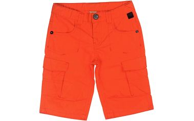 Chlapecké bermudy - oranžové