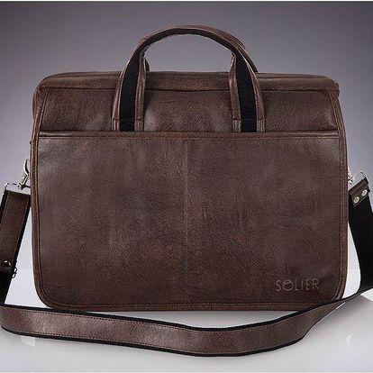 Pánská taška S13 Dark Brown