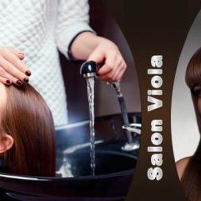 Dámská VLASOVÁ PROMĚNA pro všechny délky vlasů! Mytí, masáž, střih, foukaná, barva či melír, konečný styling!