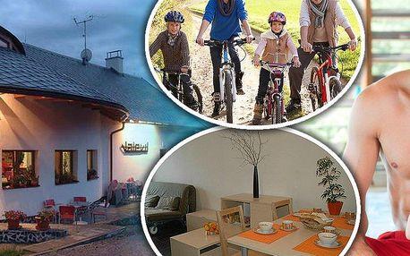Letní nebo zimní pobyt na 3 dny až pro 6 osob v Jeseníkách v Penzionu Valevil s bazénem a grilem!