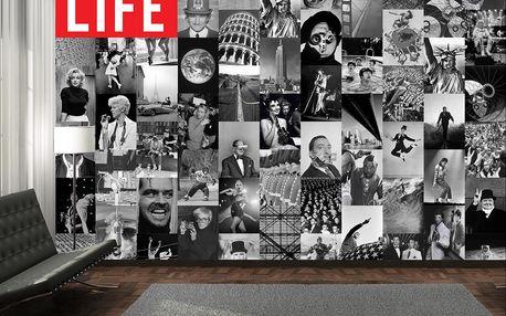 Kreativní koláž 64 dílů 37,5 x 27,5cm časopis LIFE
