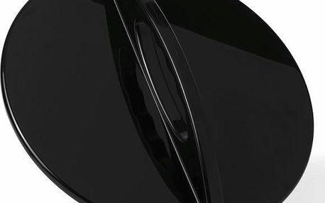 Kadeřnické zrcátko černé 29 cm