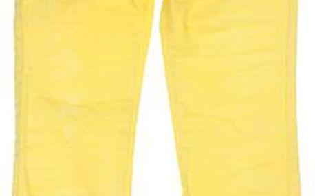 Dívčí kalhoty - žluté