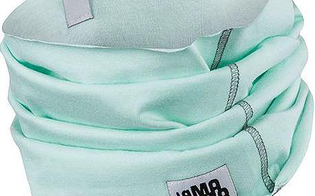 Komínový bavlněný šál/šátek- mátový