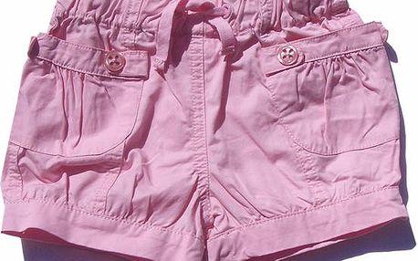 Dívčí šortky - růžové