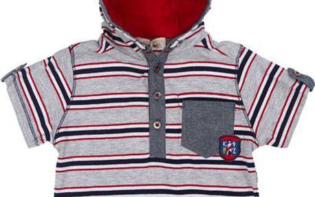 Chlapecké tričko - pruhované