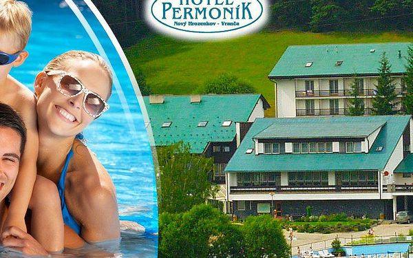 Beskydy - pobyt pro dva s polopenzí v hotelu Permoník. Welcome drink a vstup do bazénu v ceně!