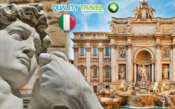 Zájezd za památkami Itálie