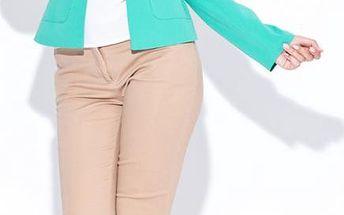 Dámské sako zelené K048 - Katrus Barva: zelená, Velikost: S