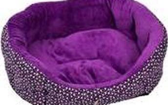 Samohýl Pelech 8 hran textil Radouč LUX fialový 60 cm