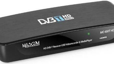 Set-top box Mascom MC650THD