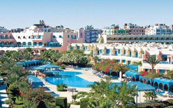Egypt, oblast Hurghada, doprava letecky, all Inclusive, ubytování v 4* hotelu na 12 dní