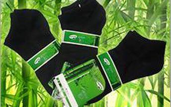 6 párů ponožek z bambusu