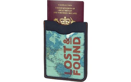 Obal na pas a letenky Lost and Found