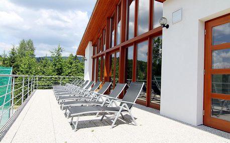Luxusní 3 denní relaxační pobyt ve wellness & spa hotelu HORAL**** v srdci Beskyd
