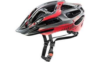 Cyklistická přilba UVEX Supersonic black-red mat 57-62 cm