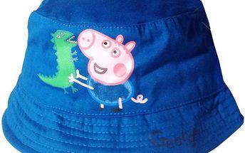 Chlapecký klobouček Peppa Pig Tom - tmavě modrý