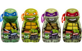 NINJA TURTLES Sprchový gel & Šampón 400ml