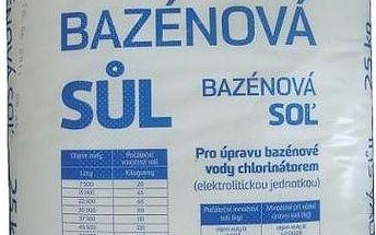 Bazénová sůl Marimex 25 kg - efekt mořské vody