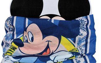 Chlapecký nákrčník/multifunkční šátek Mickey Mouse