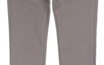 Dívčí úzké kalhoty - šedé