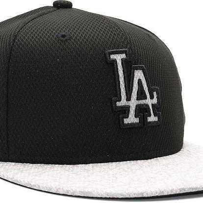 Dětská Kšiltovka New Era Reflect Vize Los Angeles Dodgers Black/Grey Strapback černá / šedá / černá