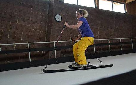 Indoorová lyžovačka ve Skiaréně Milovice