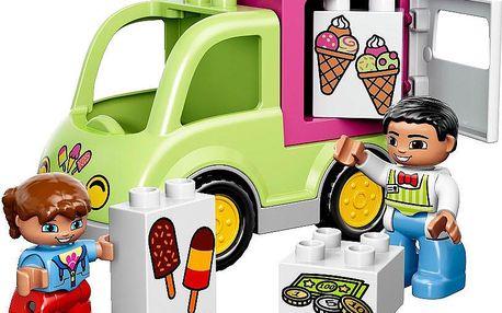 DUPLO 10586 Town Zmrzlinářská dodávka