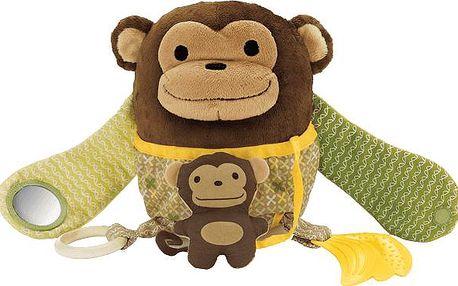 Skip Hop Opička - Aktivity plyšová
